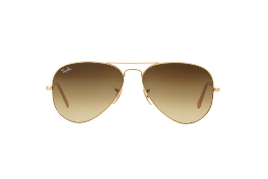 RAY BAN - AVIATOR - MOD.3025 Oro e marrone