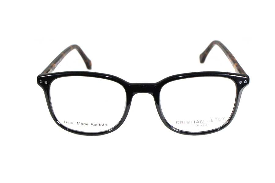 CRISTIAN LEROY - MOGADISCIO nero lucido con astine maculate