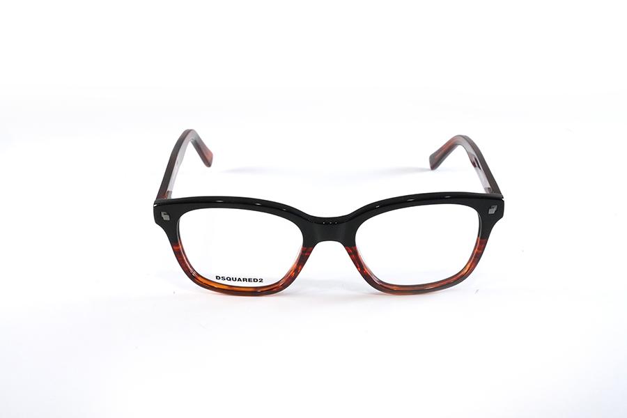 DSQUARED - DQ5175 bicolore nero marrone striato