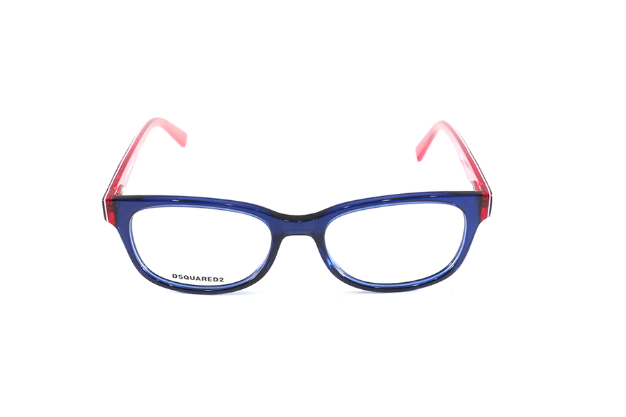 DSQUARED - DQ5218 blue - rosso