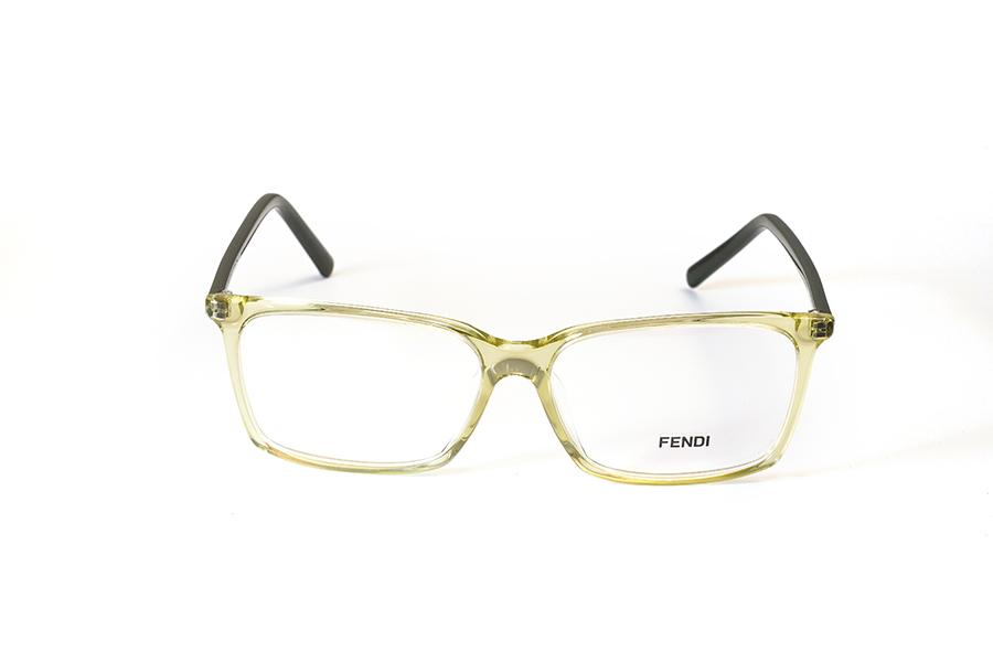 FENDI - FENDI 945 marrone con aste verde cristal