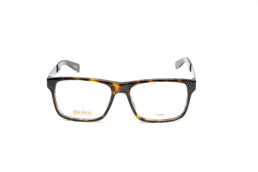 HUGO BOSS - BO 0203 tartarugato con aste blu